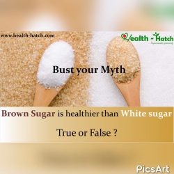 Brown Sugar White Sugar Myth Health Hatch