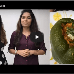 Stuffed Capsicum | Health Hatch