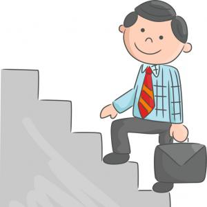 thumb-cartoon-man-climbing-stairs-vector
